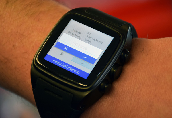 4mobile Business Smartwatch - Innovatives Wearable ersetzt MDE