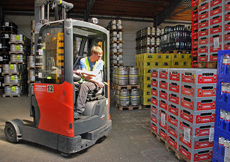 Speed up Incoming Goods with Multiscan Processes