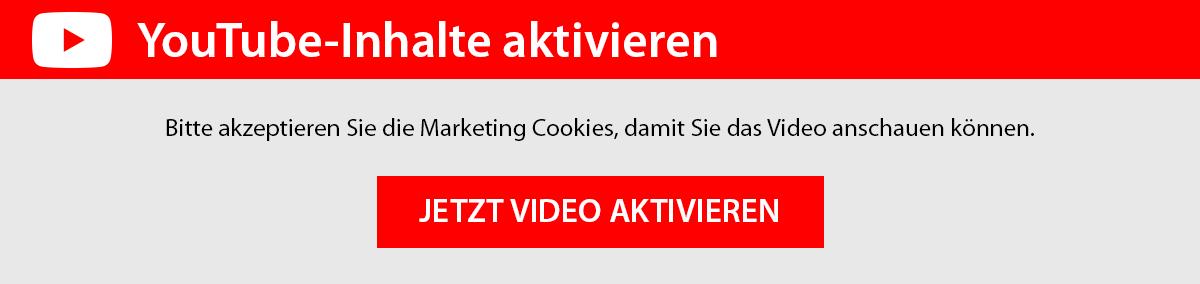 Youtube Inhalte aktivieren