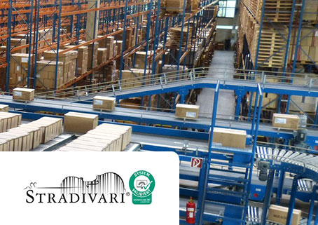 Stradivari® WMS optimizes your logistics processes.
