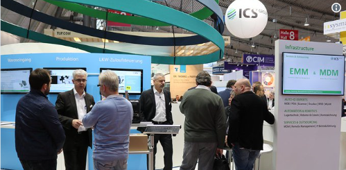 ICS Group booth at LogiMAT 2019